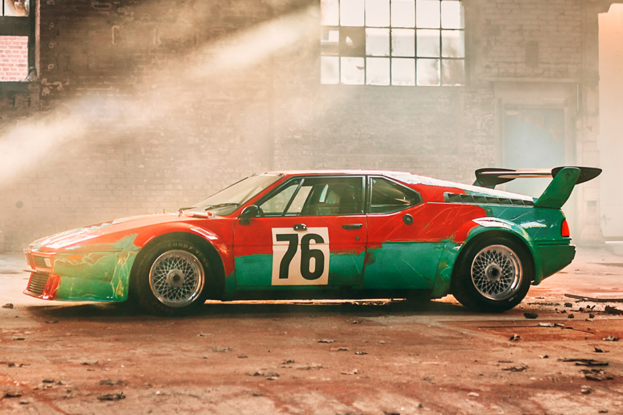 Andy Warhol's One-Of-A-Kind BMW M1