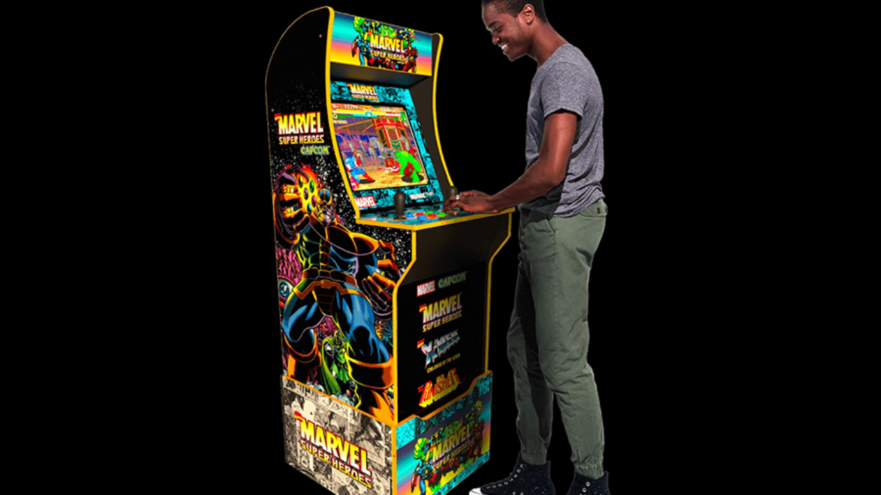 Arcade1Up Builds an Arcade in Your Home with Arcade Machines