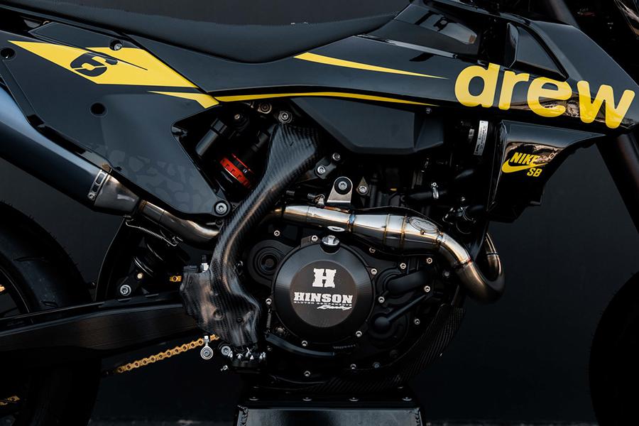 Bleach Design Works Bieber 500 Bike engine