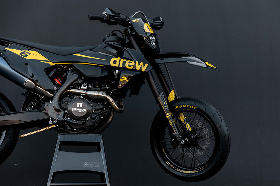 Bleach Design Works Bieber 500 Bike side view