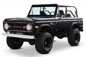 Classic Ford Broncos 1968 Ford Bronco Vail Build