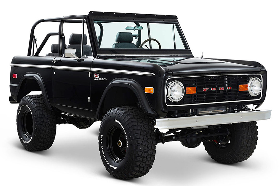 Ford Bronco Vail Build sports