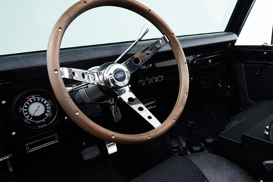 classic ford bronco steering wheel