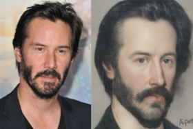 Keanu Reeves and his AI Classic Painting