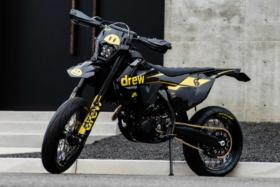Drew Custom KTM bike