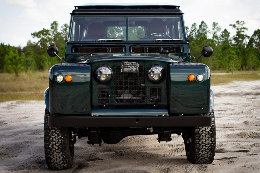 land rover series 2a front view