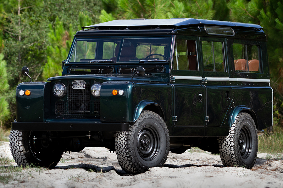 ecd land rover series custom build vehicle