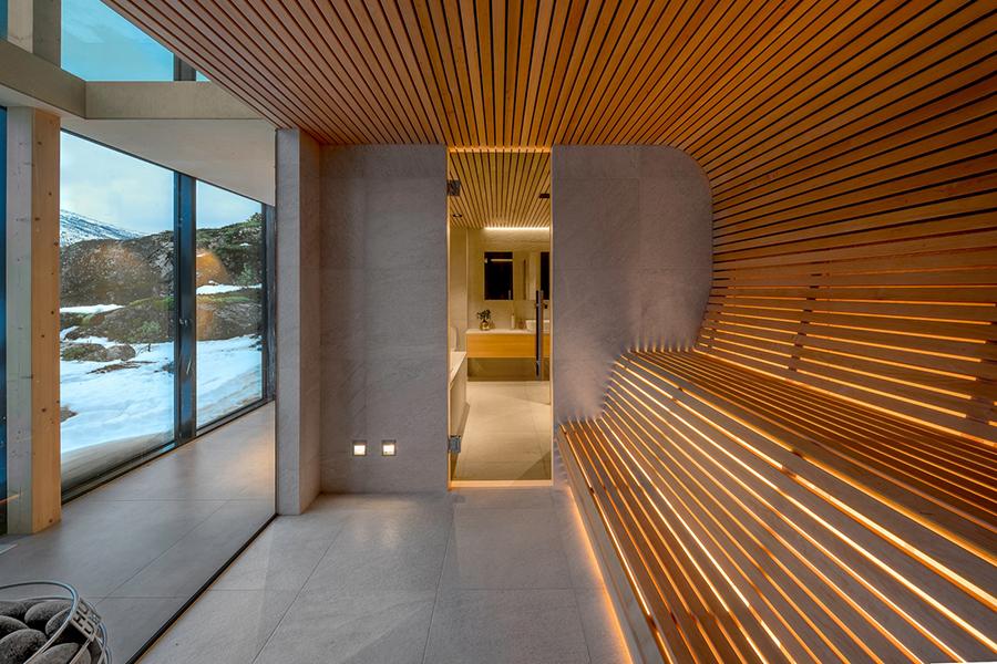Efjord House hallway