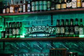 Jameson Irish Whisky cabinet