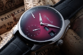 H. Moser & Cie Pioneer Dual Window Perpetual Calendar watch