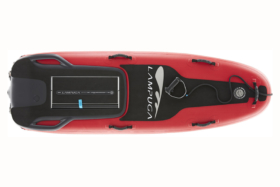 Lampuga Electric red Surfboards