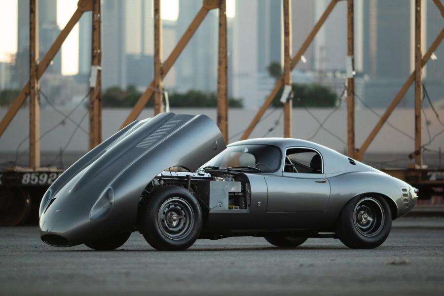 Marco Diez Improves on Beauty with a Low Drag Jaguar E-Type