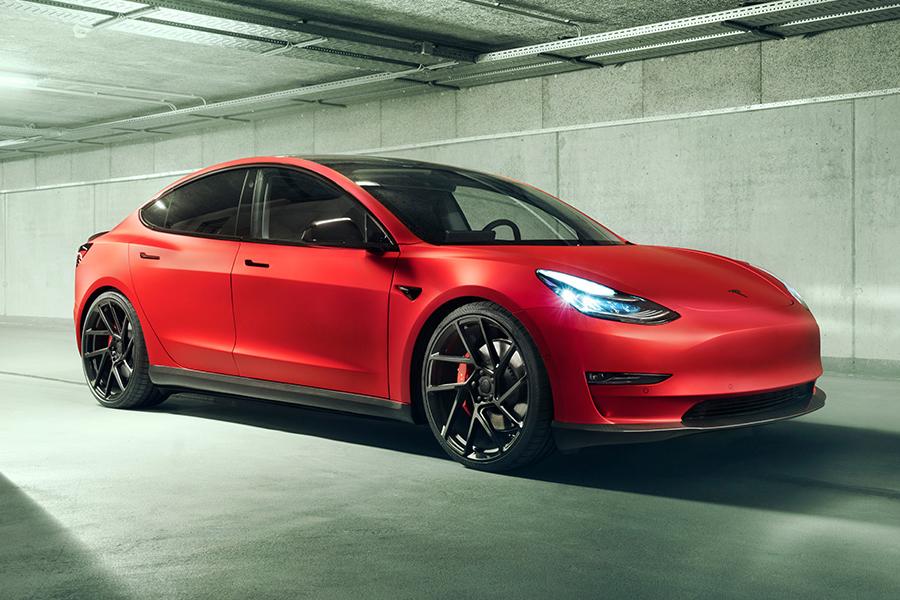 Novitec Customises the Tesla Model 3 for Better Aerodynamics