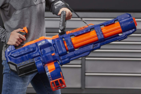 Nerf Blaster elite strap to handle the weight