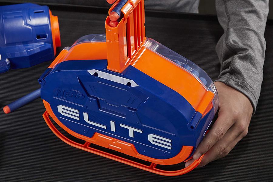 Nerf Blaster Motorised Elite Titan CS-50 Toy