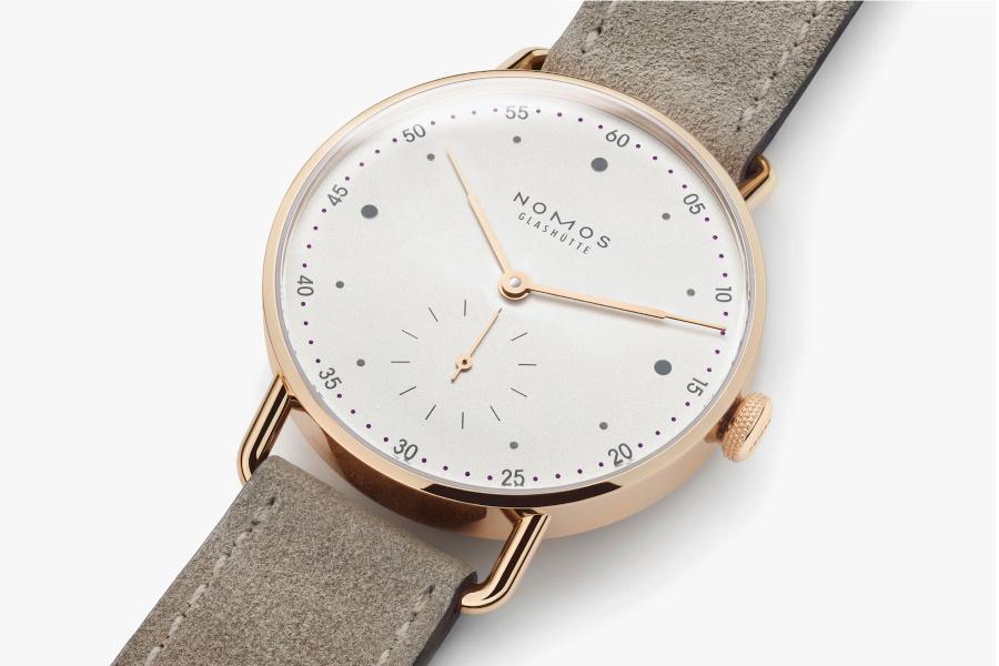 Nomos Rose Gold watch
