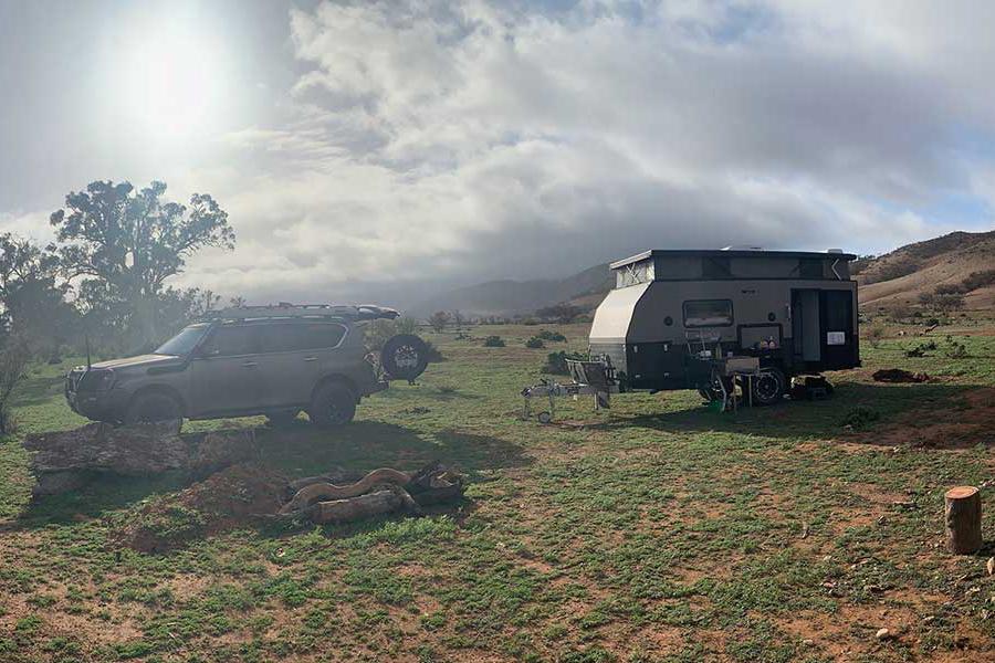 opus OP15 Hybrid Caravan