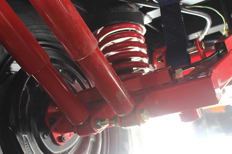 Hybrid Caravan suspension