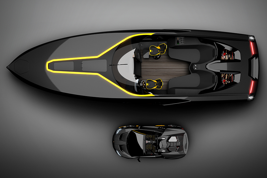 Officina Armare's A43 Speedboat is More Lifestyle than Boat