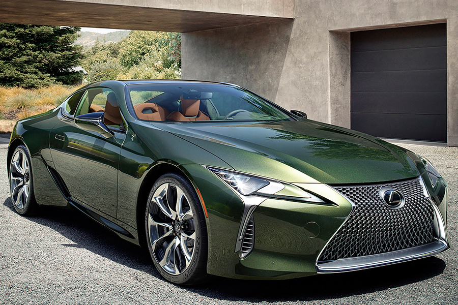LEXUS LC 500 side view