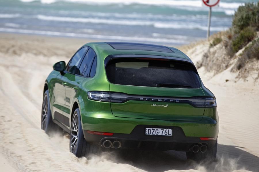 Porsche Macan S 2019 sand