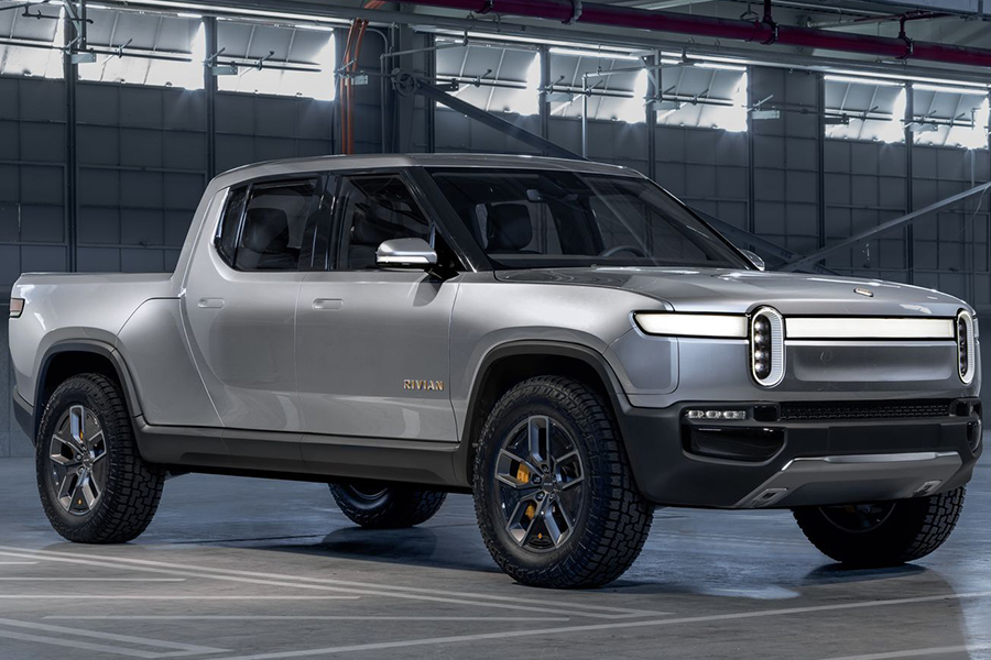 Rivian SUV vehicle