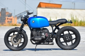 schizzo blue motorbike one size fits all
