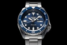 Seiko 5 Blue Dial watch