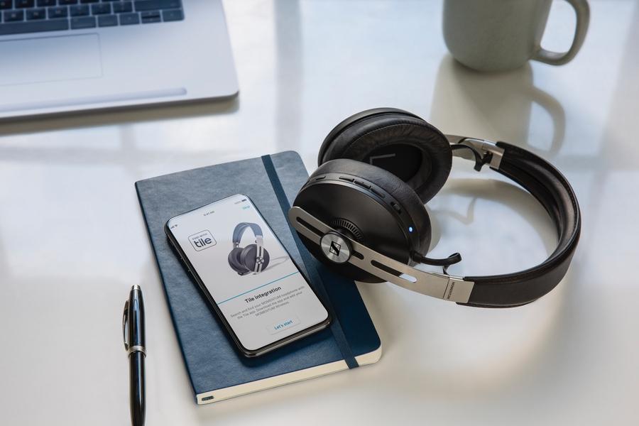 Sennheiser Momentum Wireless Headphones desk