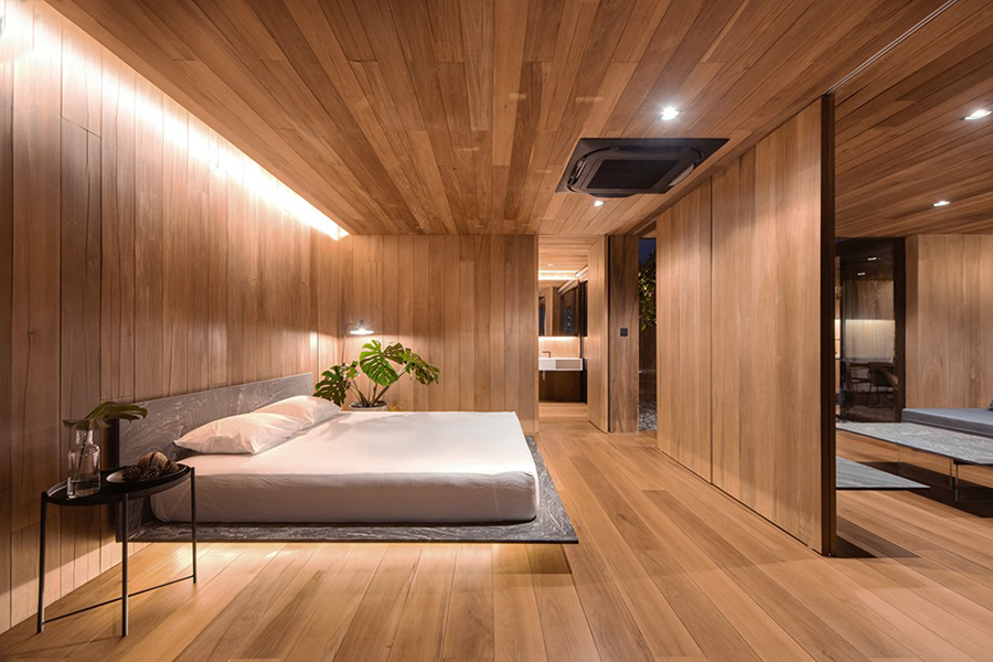 Skyscape Architecture master bedroom