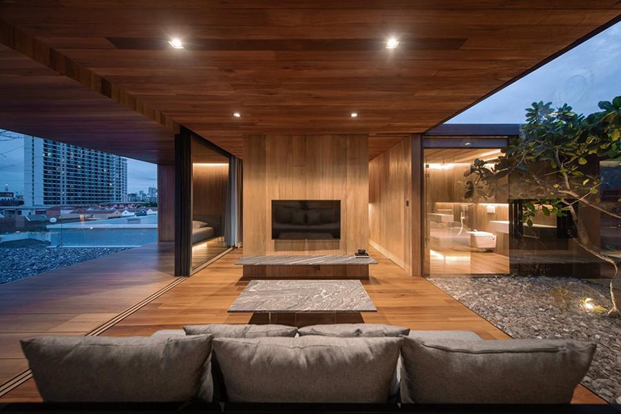 Skyscape Architecture living area