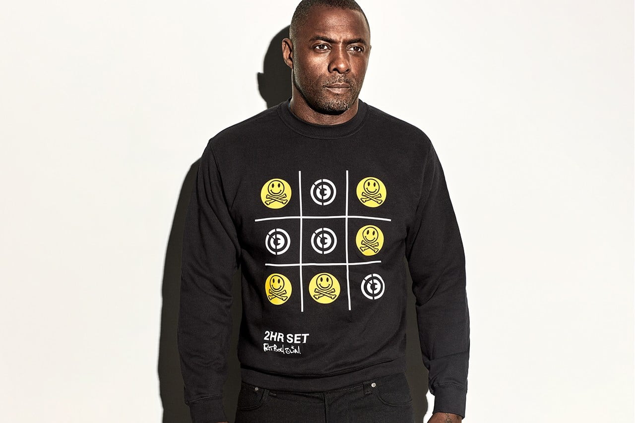 Idris Elba 2HR fashion line