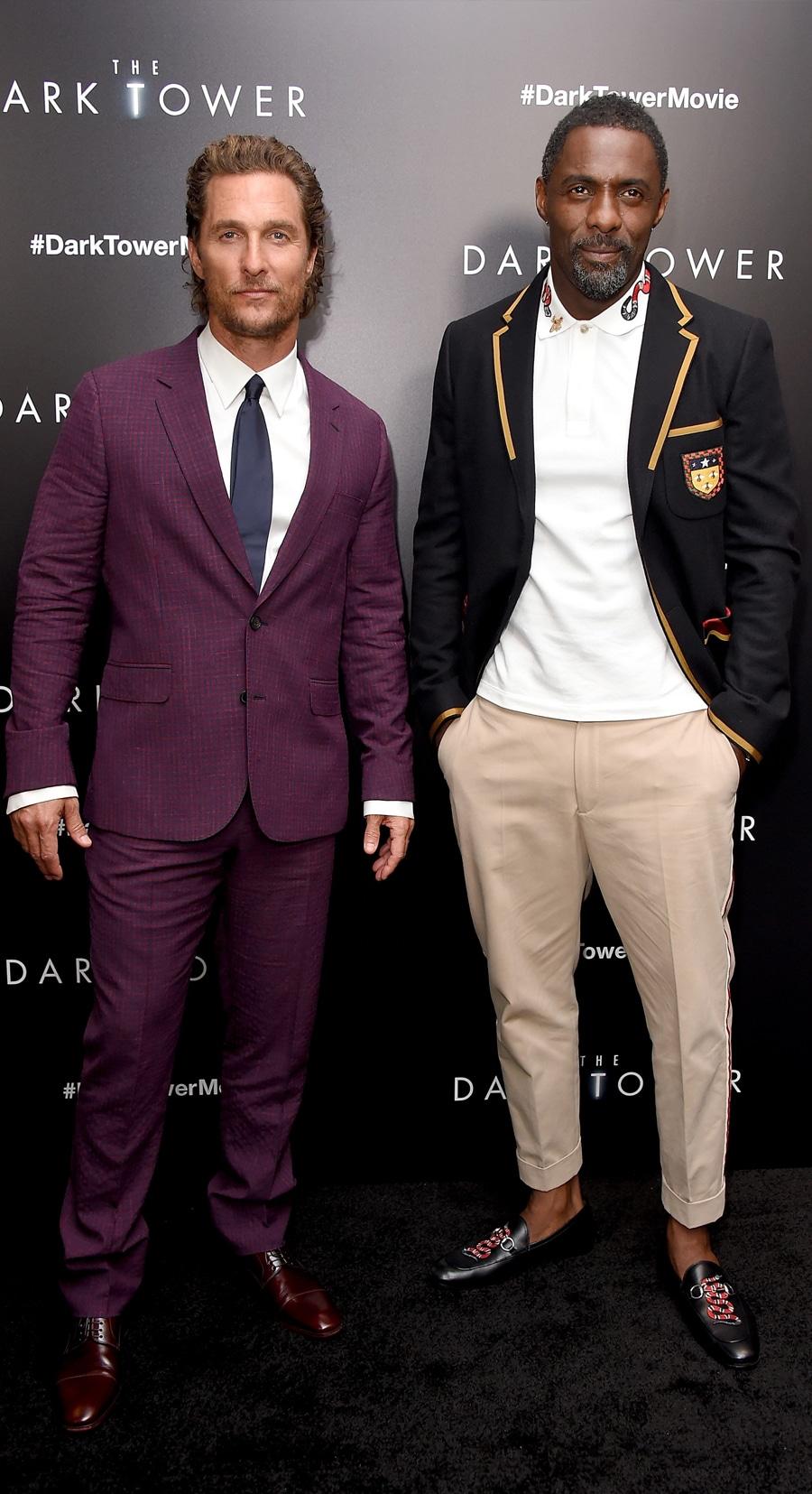Idris Elba outerwear