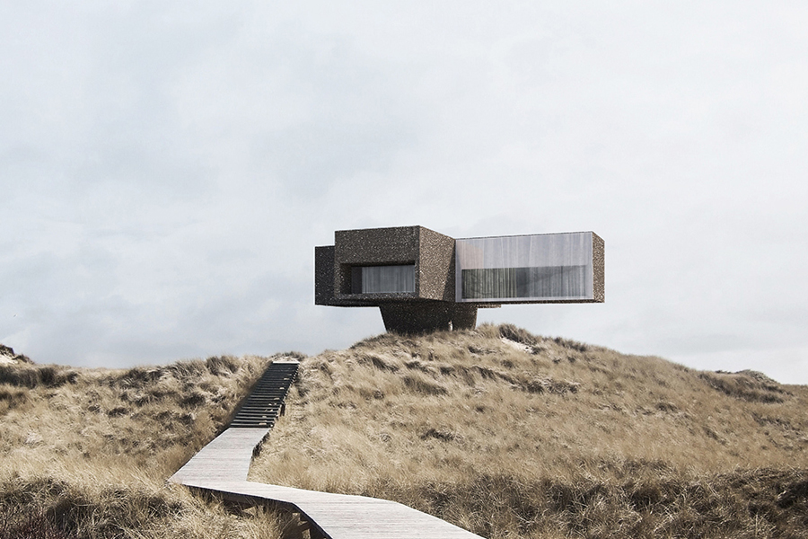the dune house in denmark