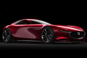 Mazda RX-9 three quarters front