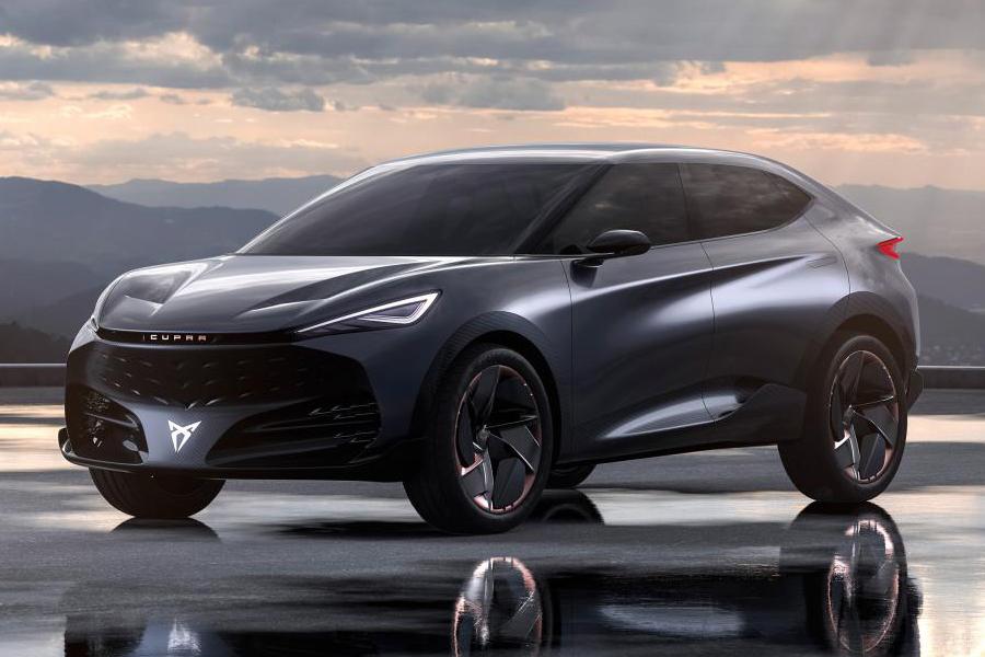 VW's Seat Unveils Cupra Tavascan Electric SUV Concept