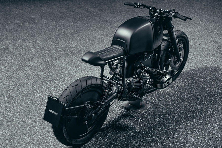 BMW R100RT top view