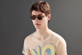 Model wearingViktor&Rolf sunglasses