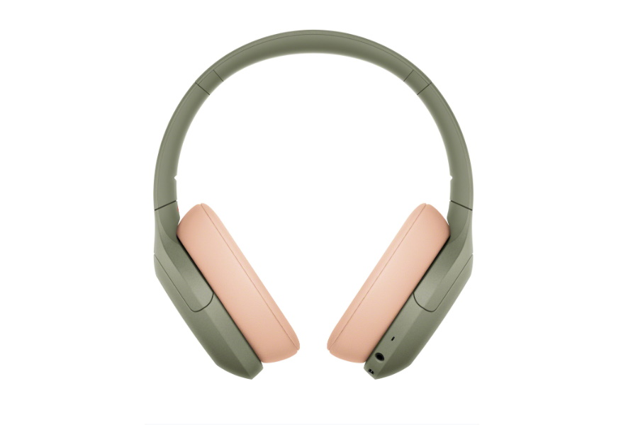 green wireless noise cancelling headphones