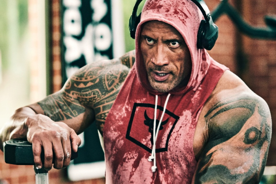 Dwayne Johnson S Personal Gym Is The Iron Paradise Man Of Many