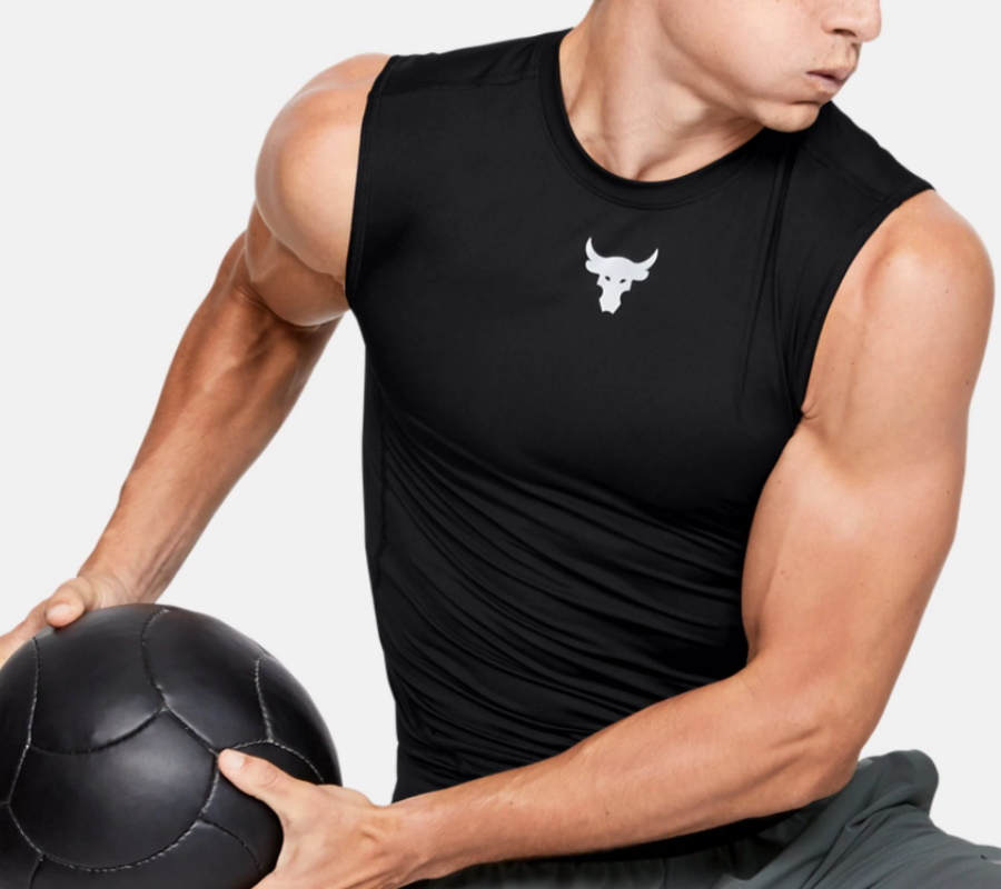 under armour project rock tanktop