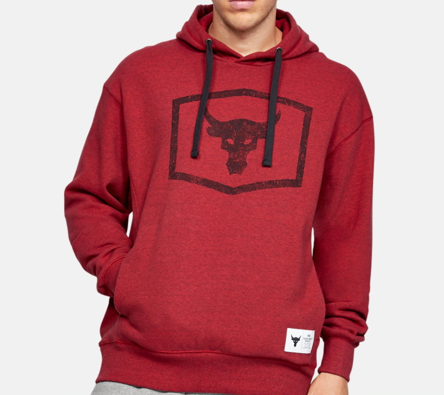 under armour project rock hoodie