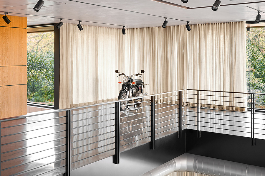 dream garage motorcycle park
