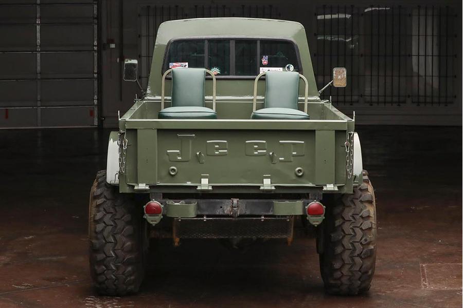 kaiser jeep back