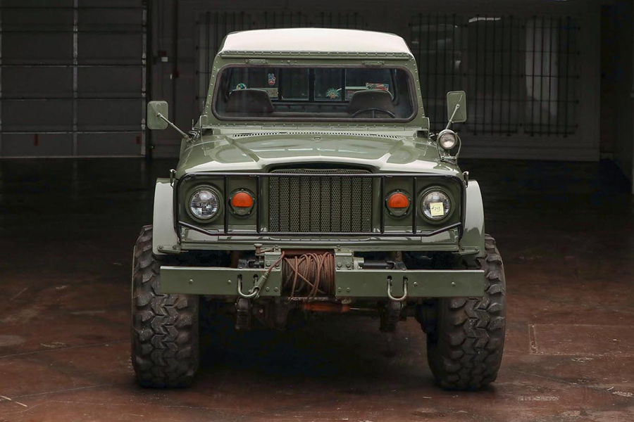 kaiser jeep front