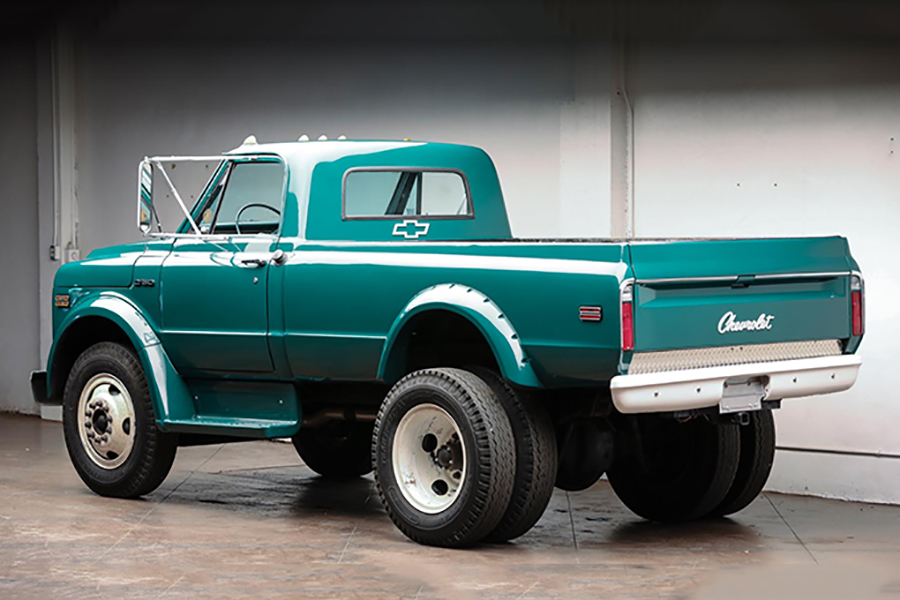 chevrolet c50 pickup truck back