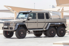 2015 mercedes-benz g63 amg 6x6 vehicle