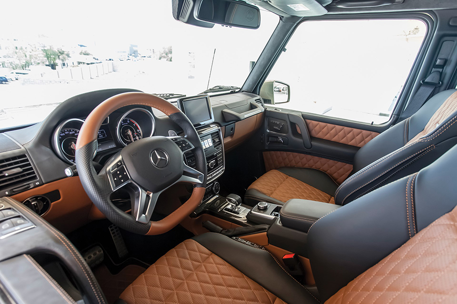 mercedes-benz steering wheel and dashboard