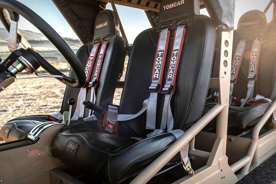 tomcar txt atv car seat upholstery