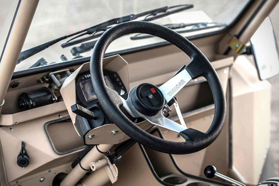 tomcar txt atv steering wheel